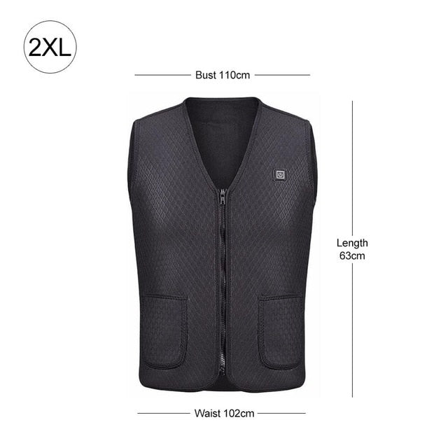 Instant Warmth Heating Vest