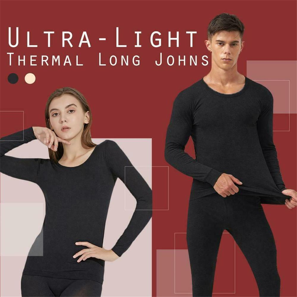 Weiflux Unisex ultra thin thermal inner wear suit (50% OFF TODAY)