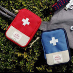 Bag First Aid Emergency Medicine Travel Accessories