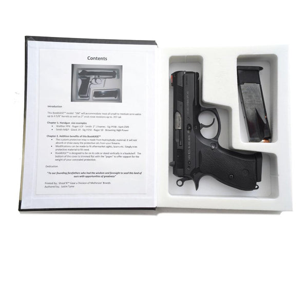 4 Units - Hand Gun Hider Book Safe-Any Given Moment SM