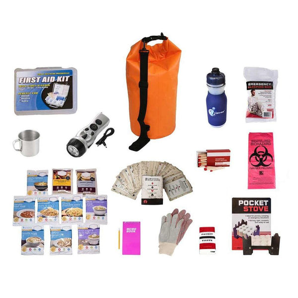 44 Meals Food Storage Survival Kit - Waterproof Dry Bag