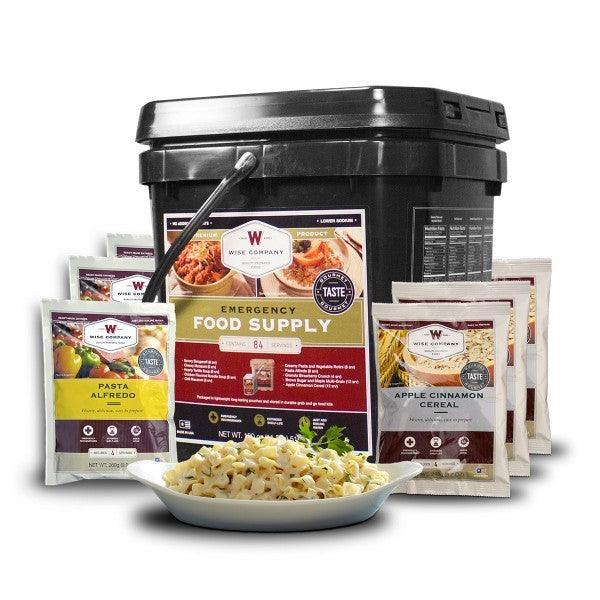 Long term food the 84 serving Grab n' Go food bucket with 25 year shelf life.