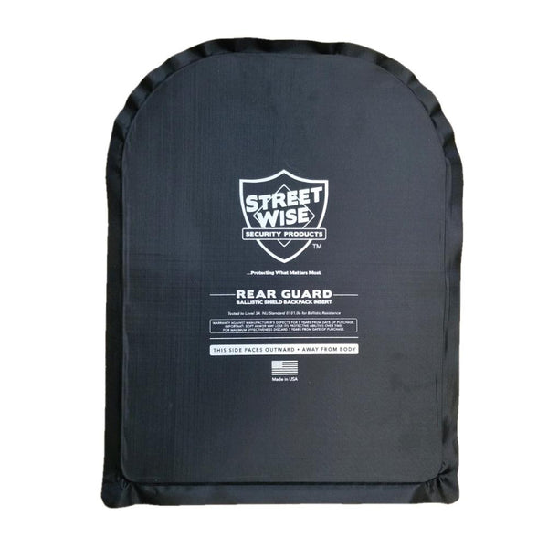 Streetwise 11 x 14 Rear Guard Ballistic Shield Backpack Insert