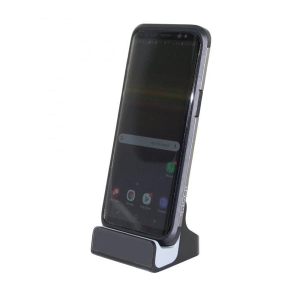 Android Dock Charger Wi-Fi Hidden Camera w/8GB Card links to your smart phone and can view from anywhere worldwide.