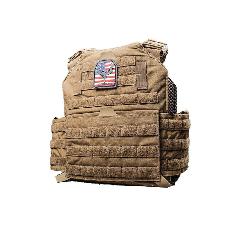 AR500 Armor Testudo generation 2 ballistic plate carrier for women and men personal safety.