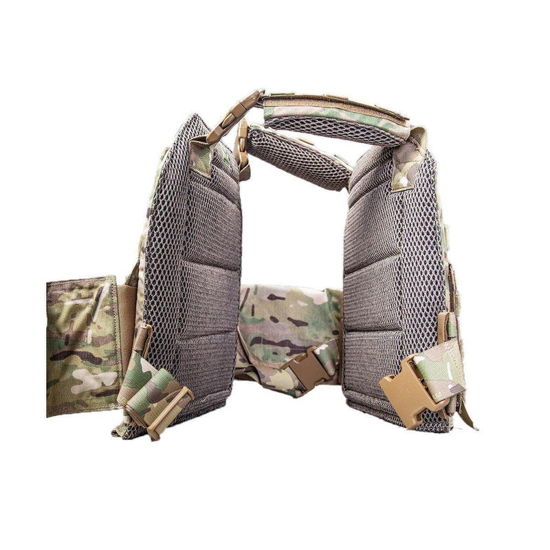 The AR500 Testudo plate carrier image shows the inside view.