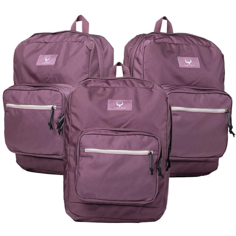Ar500 Armor Phoenix armored bulletproof backpacks available in color mauve for women and men personal protection.
