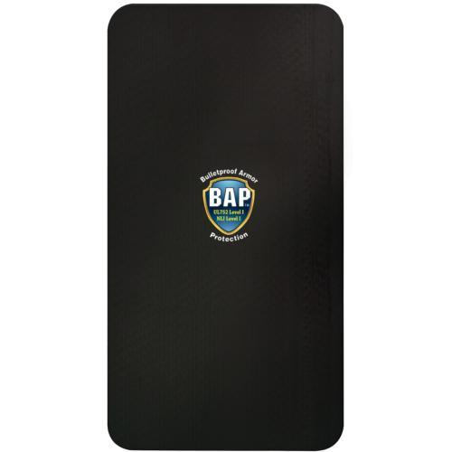 BAP™ Level 1 Bullet Resistant Backpack Ballistic Plate 10'' x 19'' ideal solution for inserting into your favorite backpack