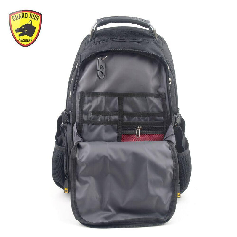 Personal self defense protection when away from home bulletproof backpack.