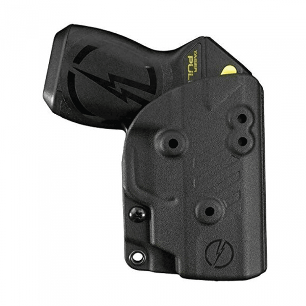 Blade Tech Kydex holster to safely carry your Taser Pulse when not in use for women and men self defense protection.