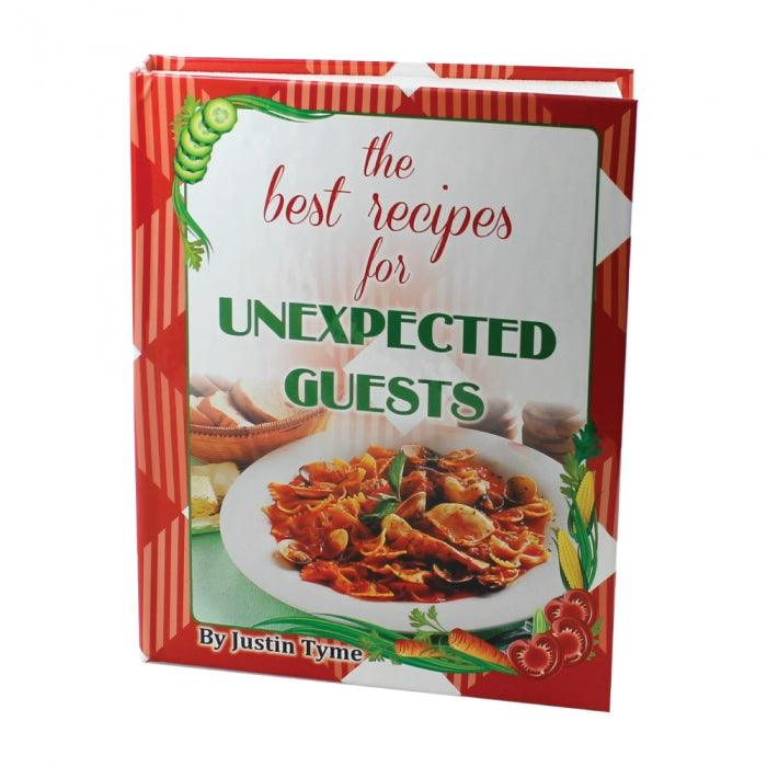 Wholesale on line pricing for this diversion safe book with cover title Best Recipes.