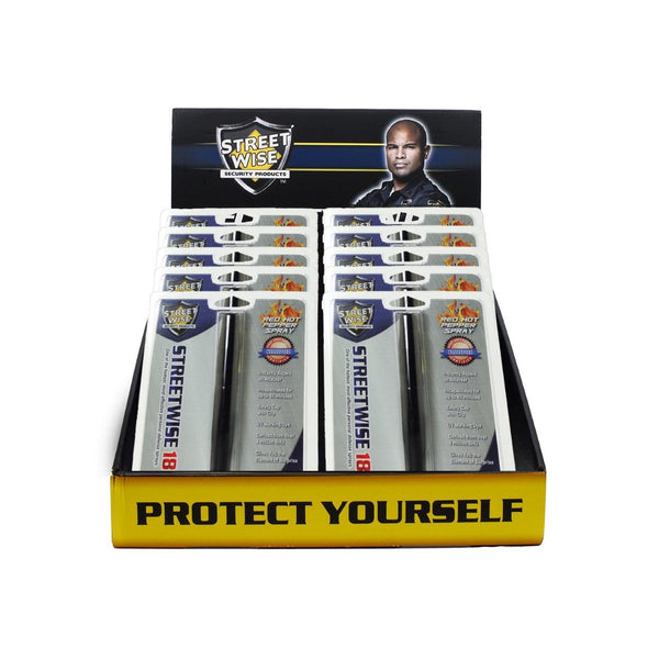 Bulk wholesale pricing for Streetwise Security pepper pen sprays for personal protection.