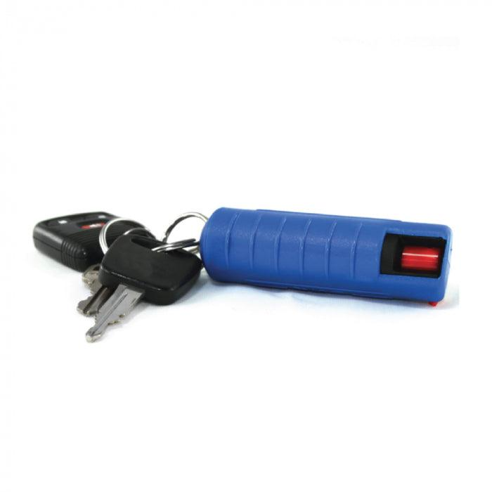 15) 1/2 oz Streetwise Blue Hard-Case 18% Pepper Spray with Counter Display Option