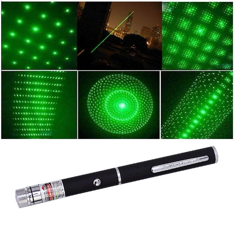 3 Pack 5mW Laser Pens Red - Green - Blue