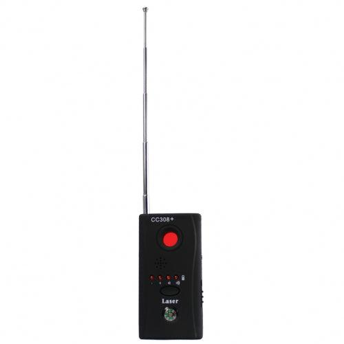 Low on line cost full range but detector with built in compass for easy use to locate any audio or video unwanted bugs.