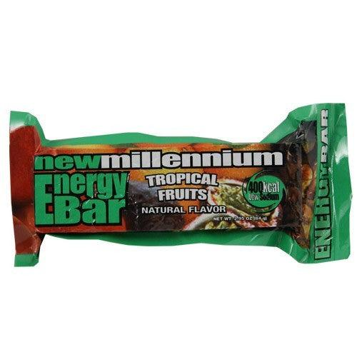 Emergency preparedness survival tropical fruit food bars.