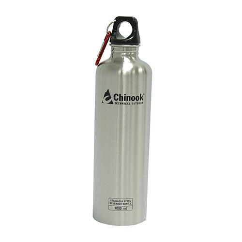 Chinook Cascade Wide Mouth Stainless Steel Bottle 32 oz. water bottle ideal option survival kits.