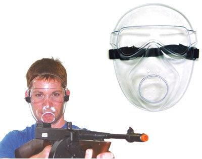Air gun accessories clear safety mask.