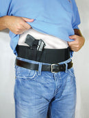 Conceal Carry Waste Belly Band for Men to Carry Handgun with Permit