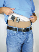 Concealed Carry Belly Band Neutral Large Size