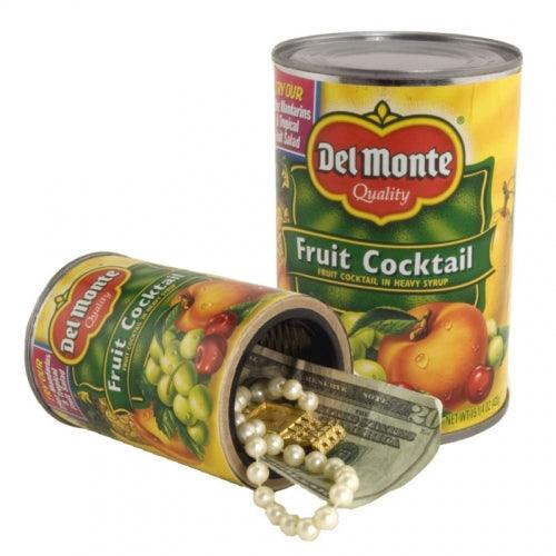 Del Monte Fruit Cocktail safe can with hidden compartment you can safely hide valuables inside.