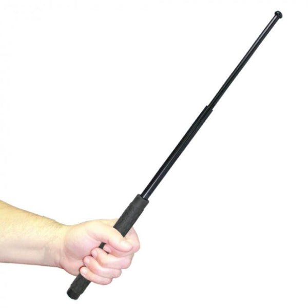 Heavy duty steel 31 inch expandable baton for law enforcement, security guards and civilian use.