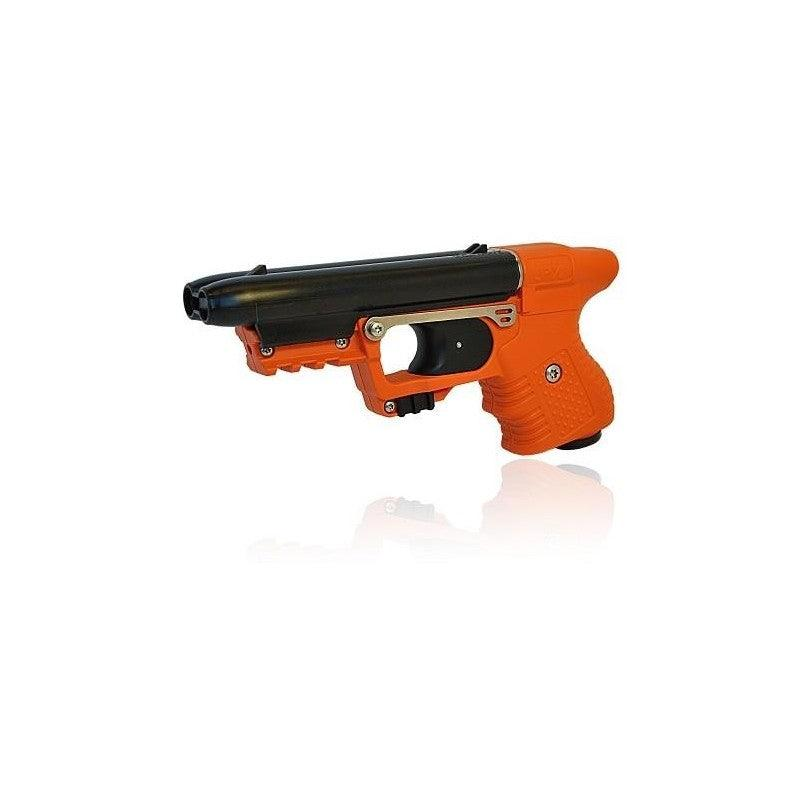 High velocity pepper gun for personal self defense protection.