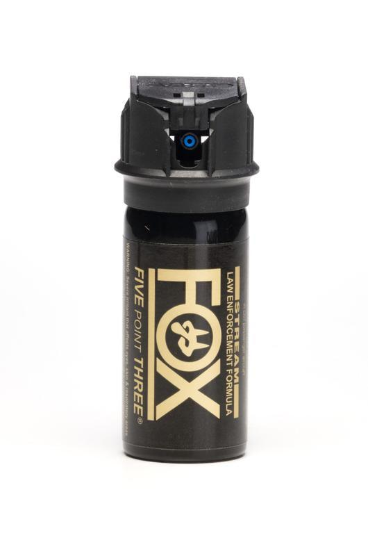 Fox labs powerful stream pepper spray for civilian and law enforcement use.