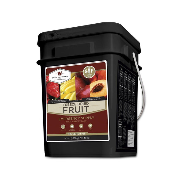 156 Servings Gluten Free Freeze Dried Fruit
