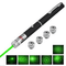 This 5-in-1 5mW 532nm Open-back Kaleidoscopic Green Laser Pointer Pen is small and exquisite, portable and with richer applications