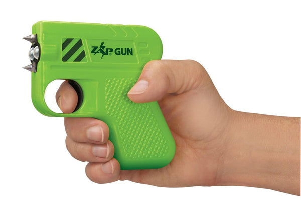 New unique Zap brand the ZAPGUN now in color green powerful and effective self defense protection.