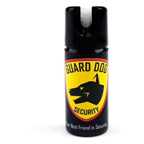 Guard dog glow in the dark pepper spray options.