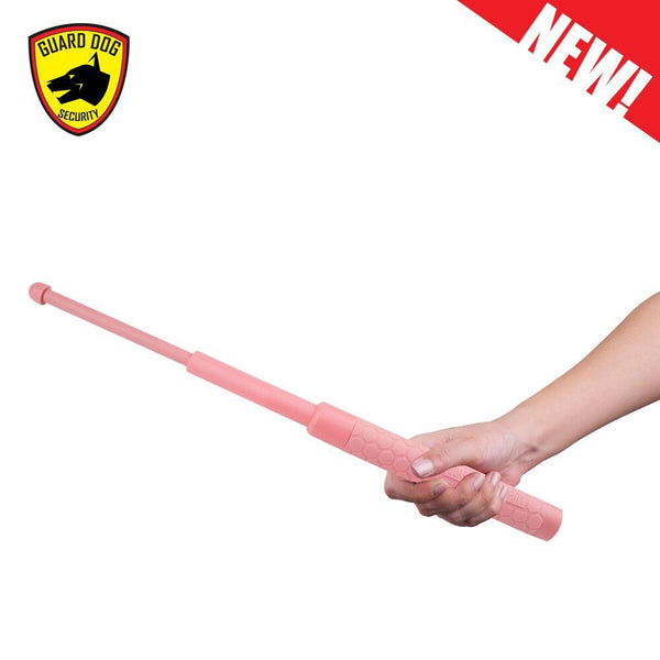 Guard Dog C-Series Expandable Pink Baton 17""