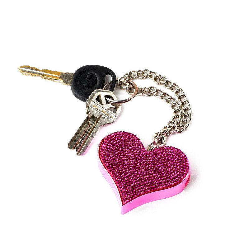 Guard Dog Heartbeat Key-Chain Alarms delivers a screeching 130dB siren, audible over 400 feet away to fend off a potential attacker by bringing noise and attention to the situation