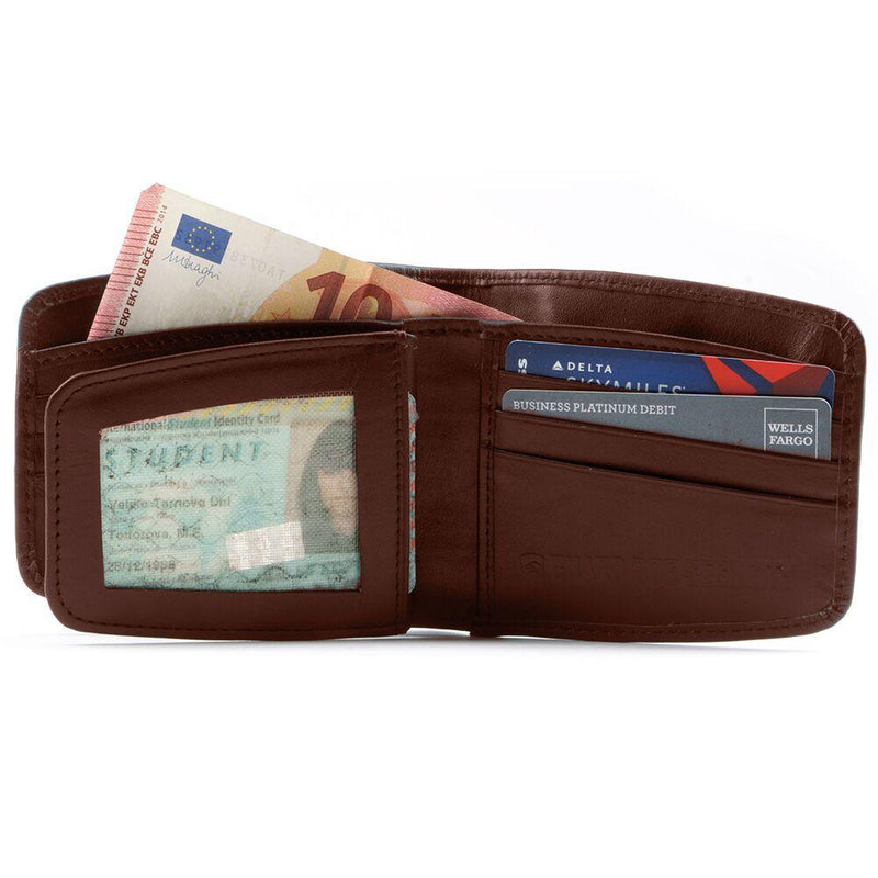 Guard Dog RFID Wallet Brown Small