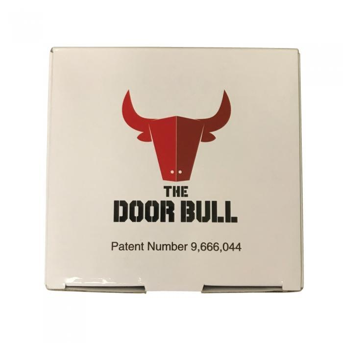 Door Bull security for home and business manufacturer packaging.