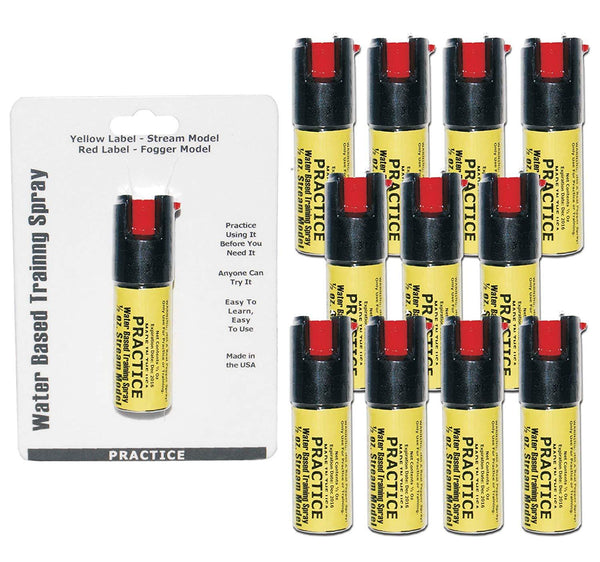 Inert Practice Pepper Spray Bundle 12 Sprays