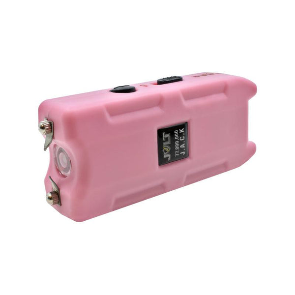 Bulk wholesale discount pricing for the brand Jolt Jack stun gun with new technology power LED lights.