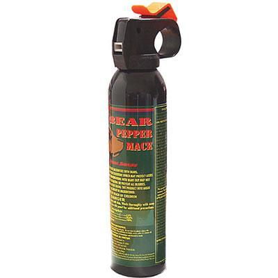 Mace bear spray offers personal self defense protection when outdoors for women and men.