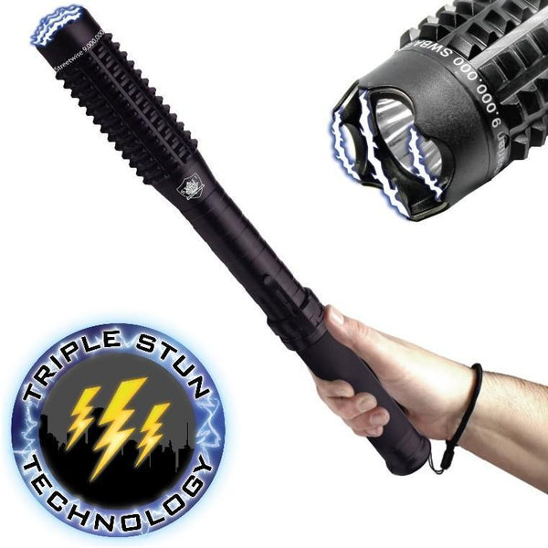 Mini Barbarian Stun Baton Flashlight