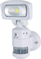 The Streetwise NightWatcher SWNW720 uses patented robotic lighting technology to protect your property by causing a super-bright security light to lock on and follow an intruder.