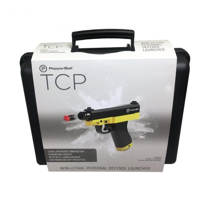 Packaging case for TCP pepper guns.
