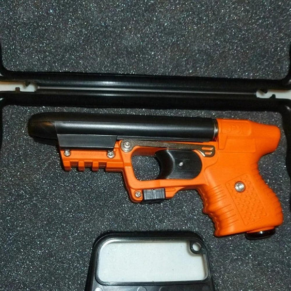 Piexon JPX 2 LE Orange Pepper Gun with Laser and Paddle Holster