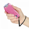 Pink color stun guns that are powerful and offer women effective self defense protection.