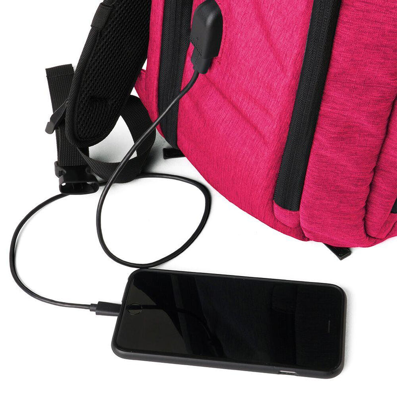 ProShield Smart Bulletproof Backpack - Pink