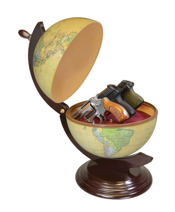 World Glover hidden compartment to safely hide valuables or handguns inside safely.