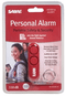SABRE Portable Personal  Protection Alarm - Red Key Chain with Loud Attention Grabbing Alarm - Supports the Charity Rainn Rape, Abuse and Incest National Network).