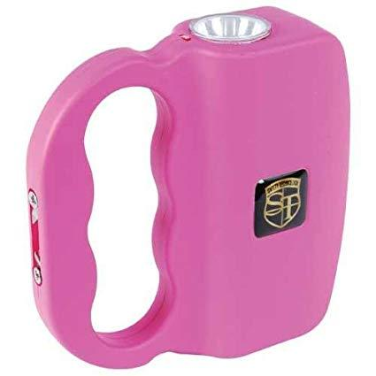 Pink Talon Stun Gun and Flashlight