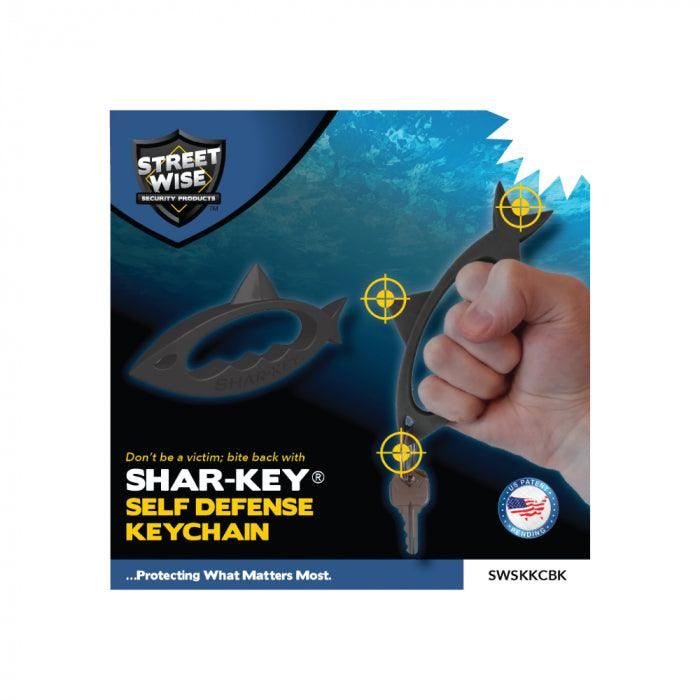 Shar-Key self defense key ring manufacturer packaging for safe shipping.