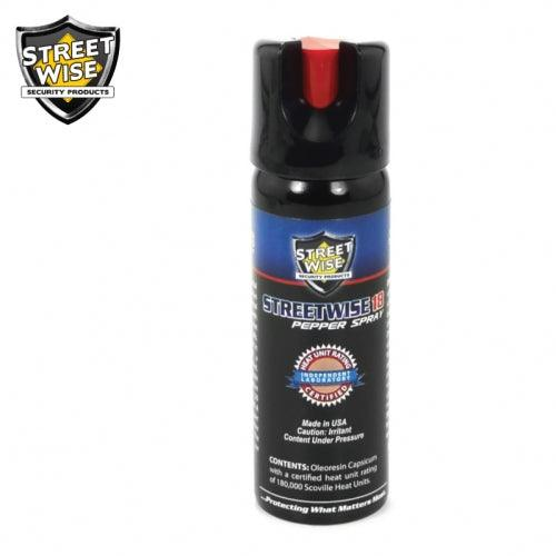 Streetwise Security Products pepper spray with safety twist lock protection women and men.